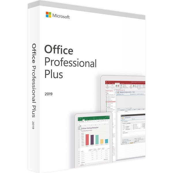 Microsoft Office 2019 Proffesional Plus | Windows | Lizenz