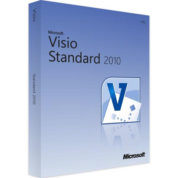 Microsoft Visio 2010 Standard Windows