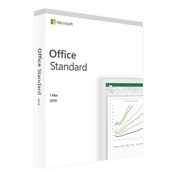 Microsoft Office 2019 Standard | Mac | Lizenz
