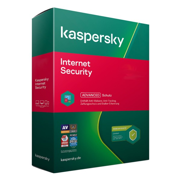 Kaspersky Internet Security 2021 PC/MAC/Android