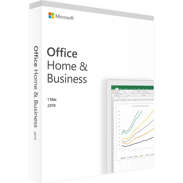 Microsoft Office 2019 Home and Business MAC