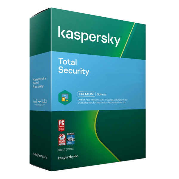 Kaspersky Total Security 2021   PC/MAC/Android