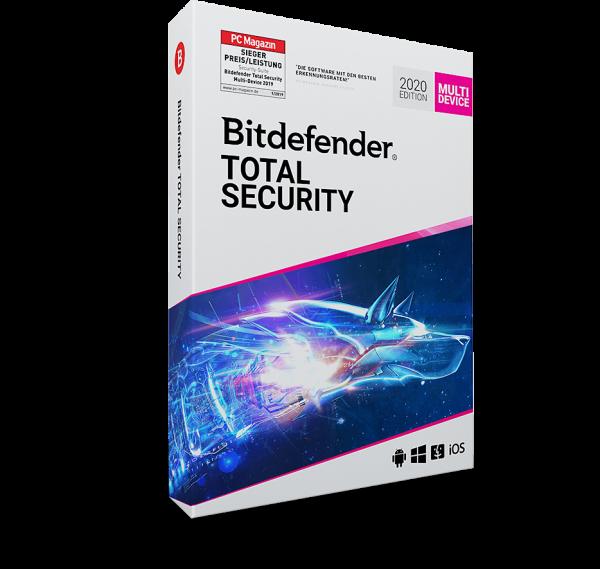 Bitdefender Total Security 2021   PC/Mac/Mobile
