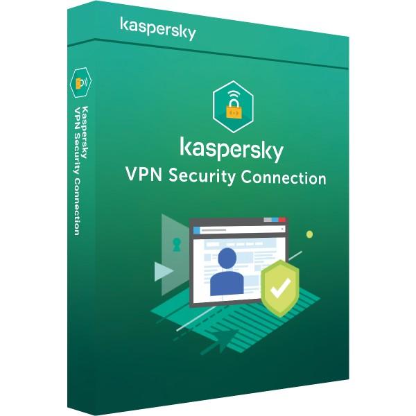 Kaspersky Secure Connection VPN | Multi Device | 5 Geräte 1 Jahr