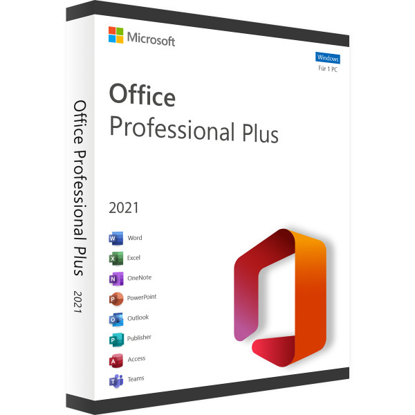 Microsoft Office 2021 Professional Plus | für Windows