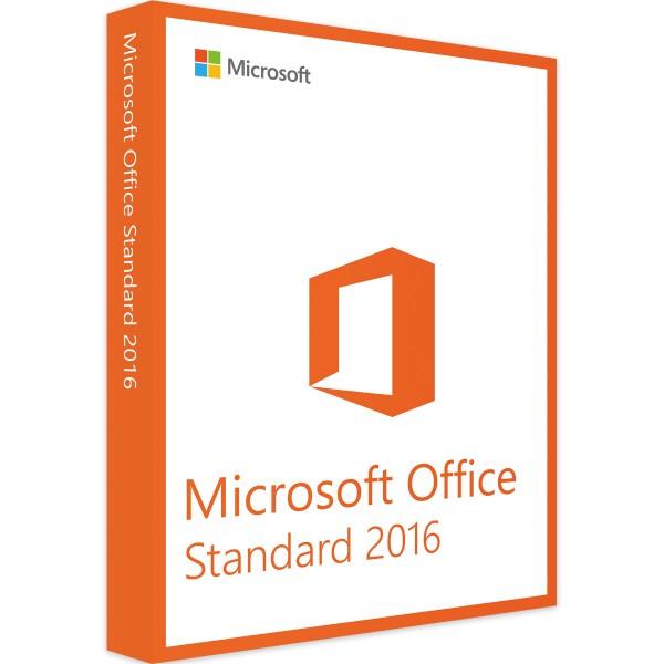 Microsoft Office 2016 Standard Windows